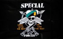 SPECIAL FORCES - 5 X 3 FLAG
